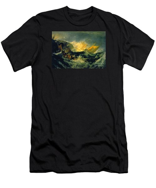 The Shipwreck Of The Minotaur Men's T-Shirt (Slim Fit) by MotionAge Designs