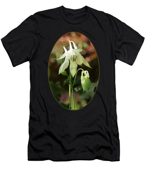 The Shy Aquilegia Men's T-Shirt (Athletic Fit)