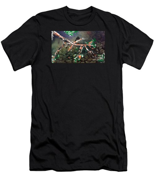 The   Shy   Introbird Men's T-Shirt (Athletic Fit)