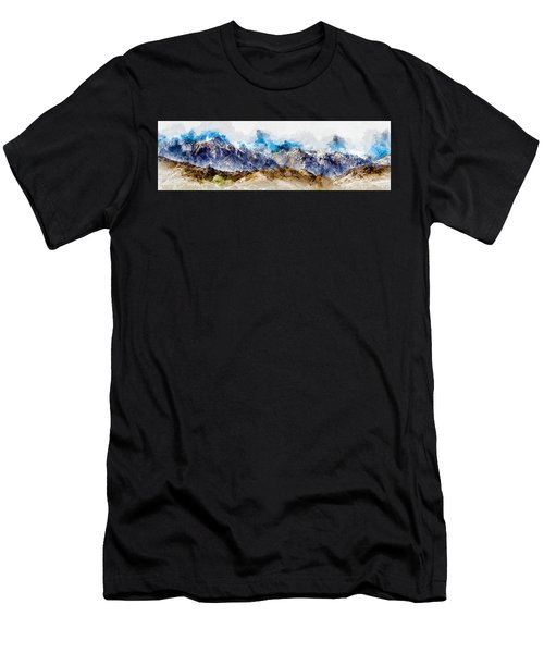 The Sierras Men's T-Shirt (Athletic Fit)