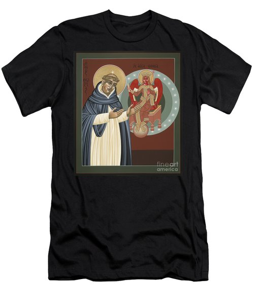 The Silence Of St Thomas Aquinas 097 Men's T-Shirt (Athletic Fit)