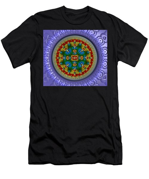 Men's T-Shirt (Slim Fit) featuring the digital art The Singularity by Manny Lorenzo