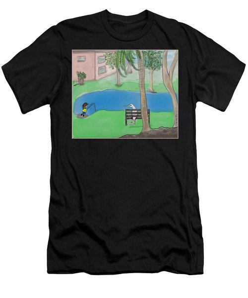 The Sitter Men's T-Shirt (Athletic Fit)