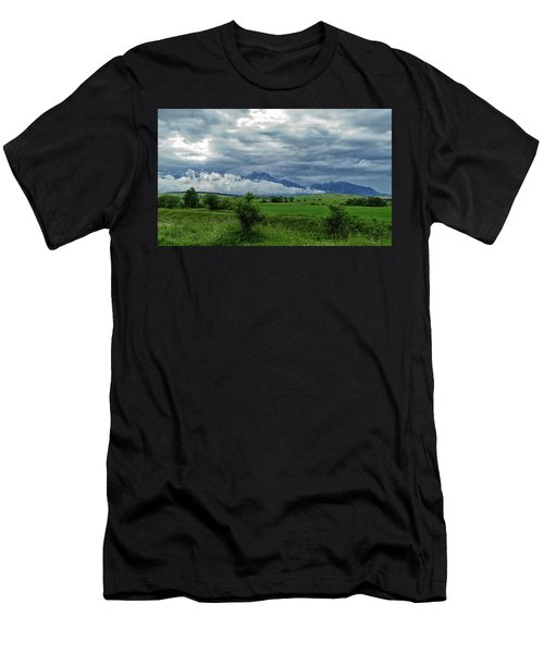The Sky Has Fallen Men's T-Shirt (Athletic Fit)