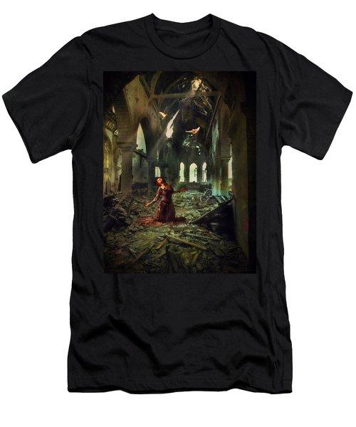 The Soul Cries Out Men's T-Shirt (Athletic Fit)