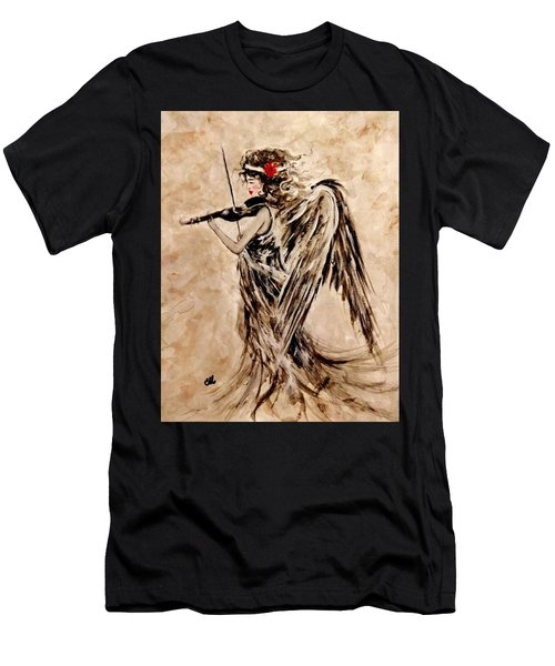 The Sound Of An Angel. Men's T-Shirt (Athletic Fit)