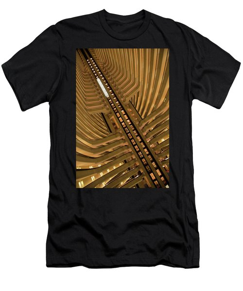 Men's T-Shirt (Athletic Fit) featuring the photograph The Spine by David Chandler