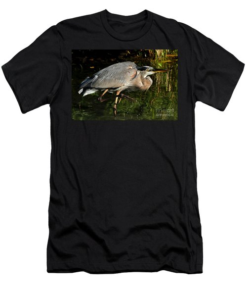 Men's T-Shirt (Slim Fit) featuring the photograph The Stalker by Heather King