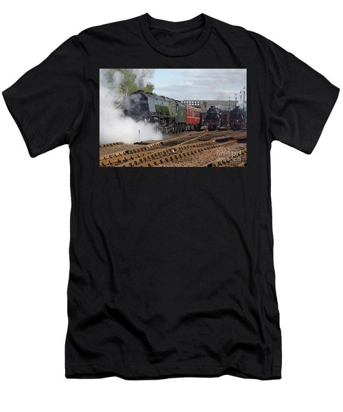 The Steam Railway Men's T-Shirt (Athletic Fit)