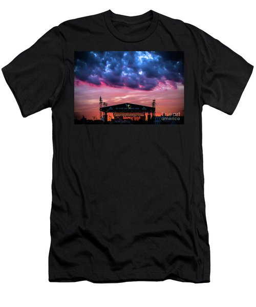 The Stone Pony Summer Stage Men's T-Shirt (Slim Fit) by Colleen Kammerer