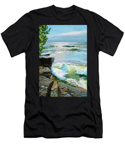 The Storm Is Gone Men's T-Shirt (Athletic Fit)