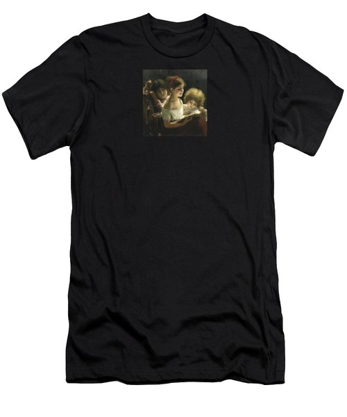 The Story Book Men's T-Shirt (Athletic Fit)