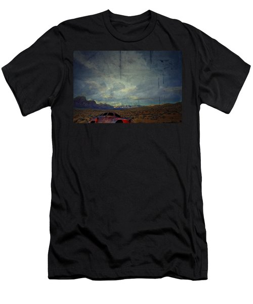 Men's T-Shirt (Slim Fit) featuring the photograph The Story Goes On  by Mark Ross