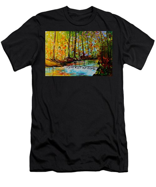 The Stream Men's T-Shirt (Athletic Fit)