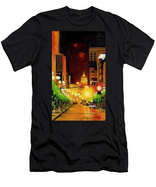 The Streets Run With Crimson And Gold Men's T-Shirt (Athletic Fit)