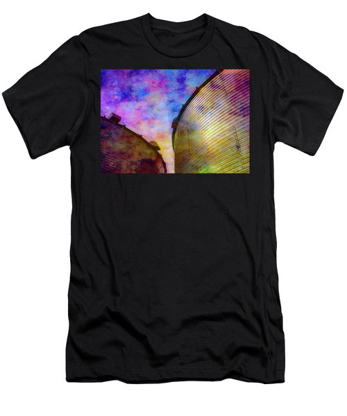 The Sun Sets The Stars Appear 4358 Idp_2 Men's T-Shirt (Athletic Fit)