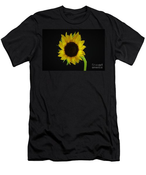 The Sunflower Men's T-Shirt (Slim Fit) by Ray Shrewsberry