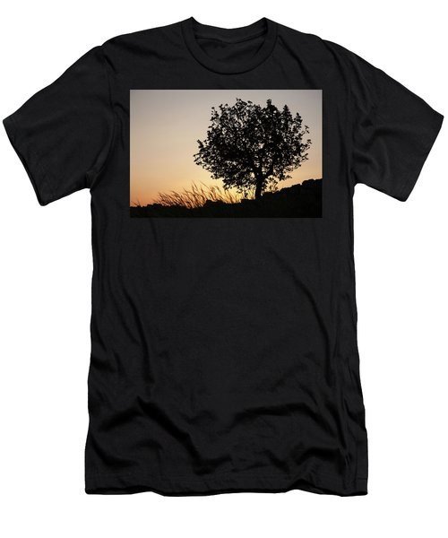 Sunset On The Hill Men's T-Shirt (Athletic Fit)
