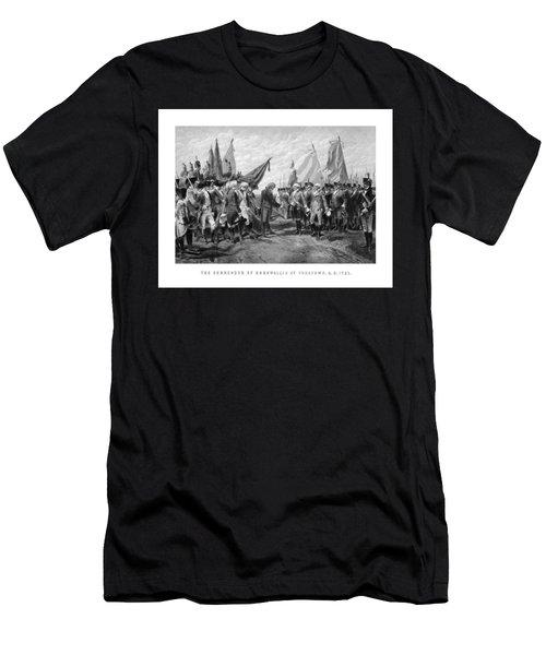 The Surrender Of Cornwallis At Yorktown Men's T-Shirt (Athletic Fit)
