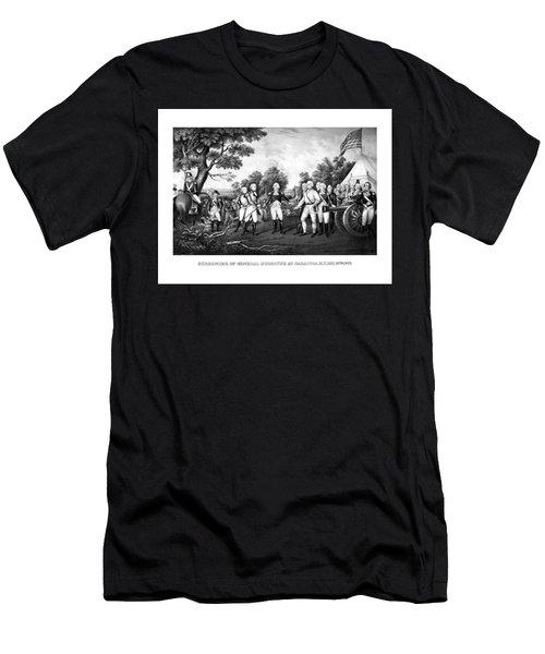 The Surrender Of General Burgoyne Men's T-Shirt (Athletic Fit)