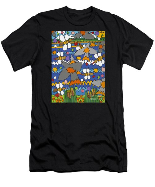 The Swallows Men's T-Shirt (Athletic Fit)