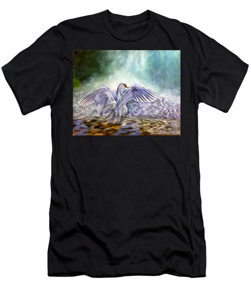 The Swan's Song Men's T-Shirt (Athletic Fit)