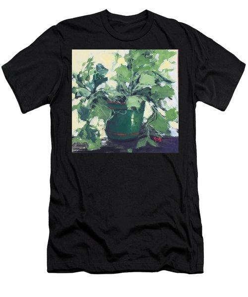 The Sweet Potato Plant Men's T-Shirt (Athletic Fit)