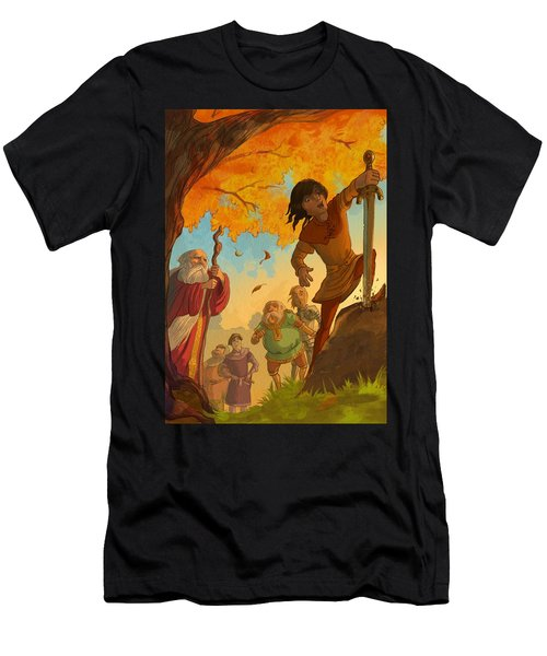 The Sword In The Stone Men's T-Shirt (Athletic Fit)