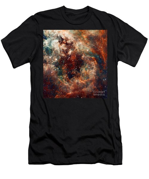 The Tarantula Nebula Men's T-Shirt (Athletic Fit)