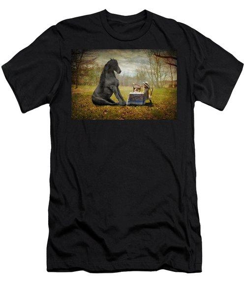 The Tea Party Men's T-Shirt (Athletic Fit)