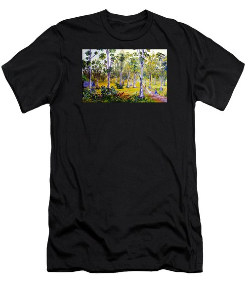 The Teak Garden Men's T-Shirt (Athletic Fit)