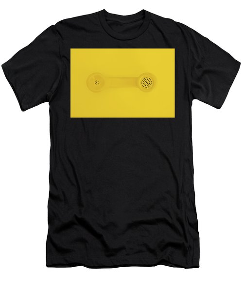 The Telephone Handset Men's T-Shirt (Athletic Fit)