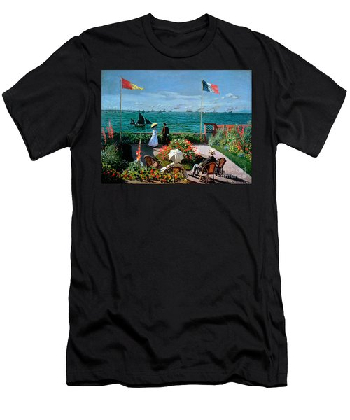 The Terrace At Sainte Adresse Men's T-Shirt (Athletic Fit)
