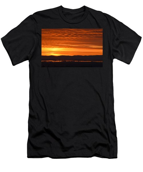 The Textured Sky Men's T-Shirt (Athletic Fit)