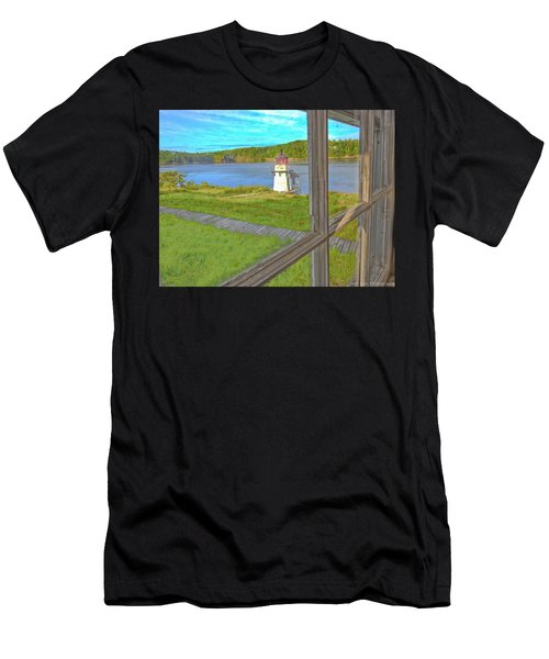 The Thin Line Between Real And Imagined Men's T-Shirt (Athletic Fit)