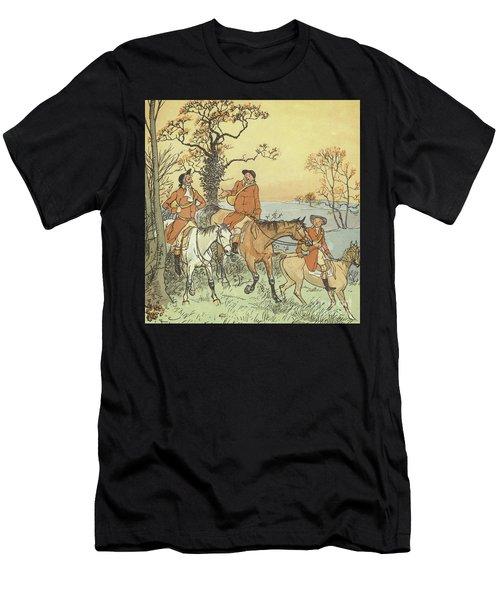 The Three Jovial Huntsmen Men's T-Shirt (Athletic Fit)