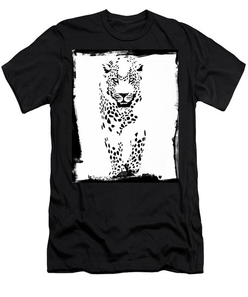 The Three Musketeers - Leopard Men's T-Shirt (Athletic Fit)