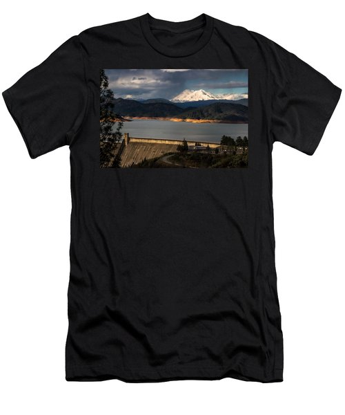 The Three Shasta's Men's T-Shirt (Athletic Fit)
