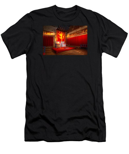 The Throne Room Of Dover Castle Men's T-Shirt (Athletic Fit)