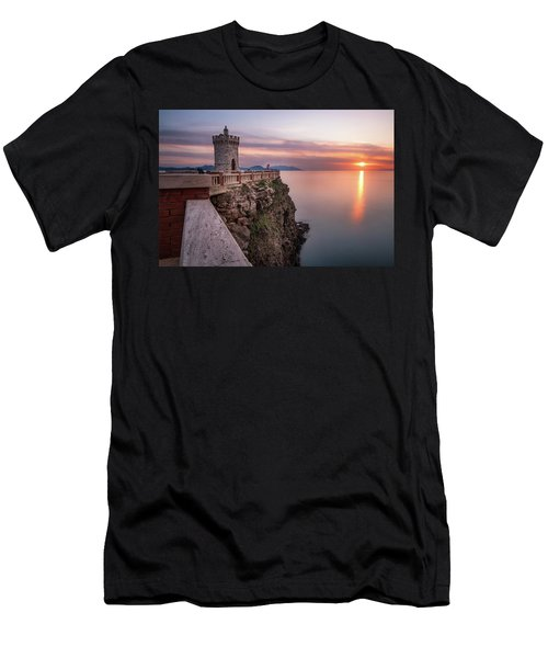 The Tiny Lighthouse Men's T-Shirt (Athletic Fit)