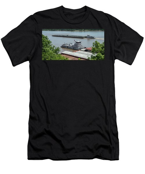 The Towboat Buckeye State Men's T-Shirt (Slim Fit) by Garry McMichael