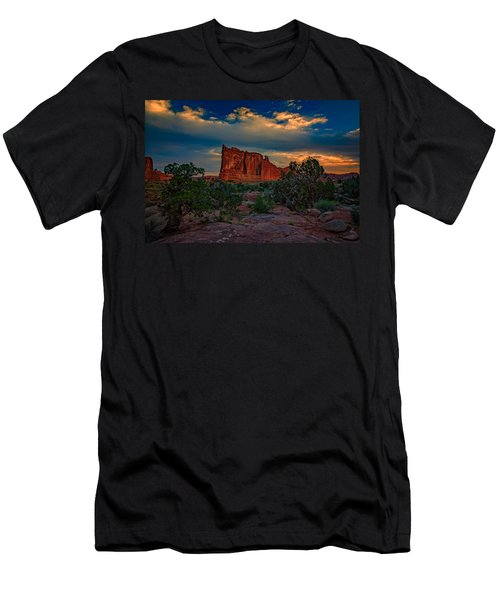 The Tower Of Babel From Park Avenue Men's T-Shirt (Athletic Fit)