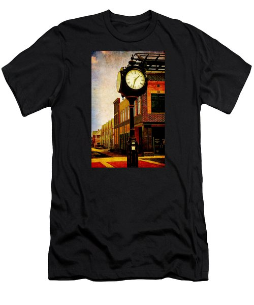 the Town Clock Men's T-Shirt (Athletic Fit)