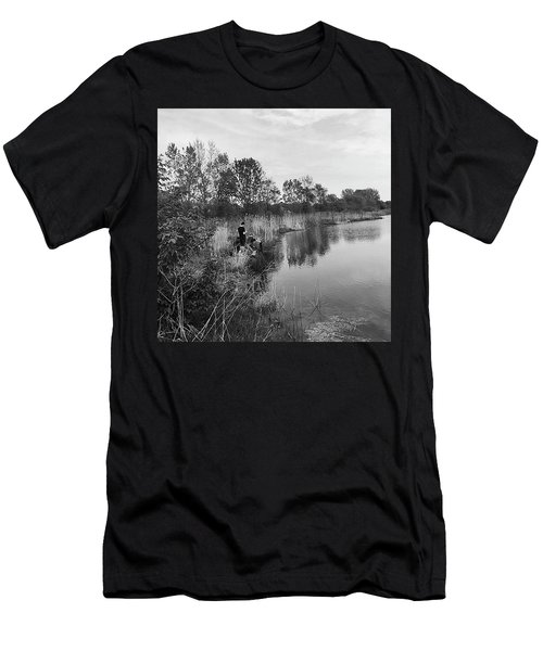 Moving The Water Men's T-Shirt (Athletic Fit)