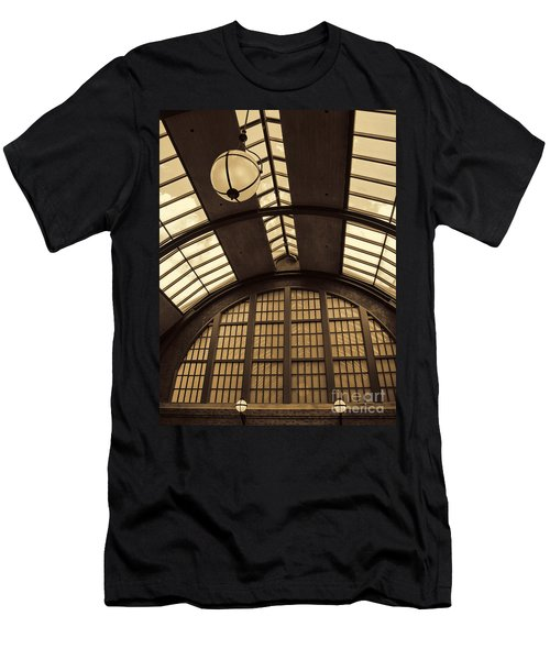 The Train Station Men's T-Shirt (Athletic Fit)