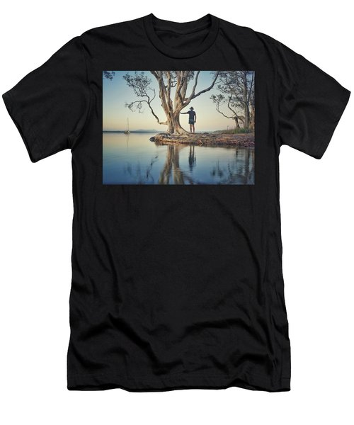 The Tree And Me Men's T-Shirt (Athletic Fit)