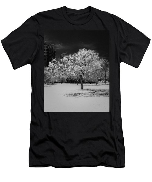The Tree Stands Alone Men's T-Shirt (Athletic Fit)