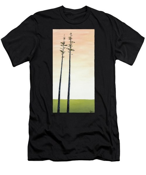 The Trees Are So Tall Here   Men's T-Shirt (Athletic Fit)