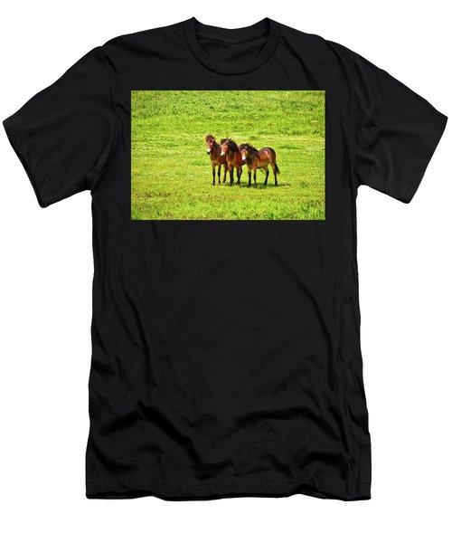 The Trio 1 Men's T-Shirt (Athletic Fit)