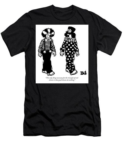 The Triumph Of Evil Clowns Men's T-Shirt (Athletic Fit)